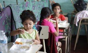 Les enfants n'ont pas été épargnés par l'impact de la tempête tropicale Amanda au Salvador