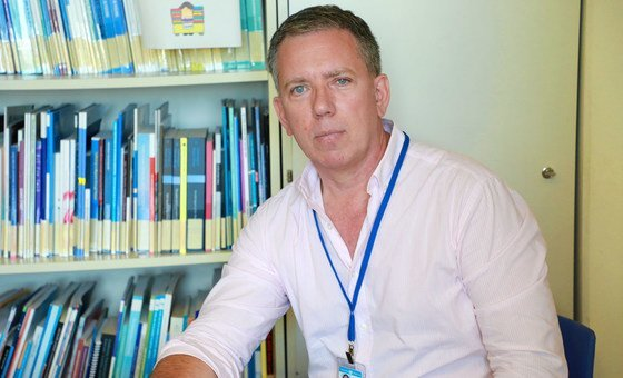 Martin Reeve is a regional adviser for human trafficking and migrant smuggling, based in Baghdad, Iraq.