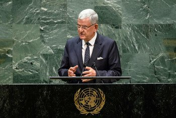 Volkan Bozkir, President of the 75th session of the United Nations General Assembly, opened the High-level Forum on the Culture of Peace