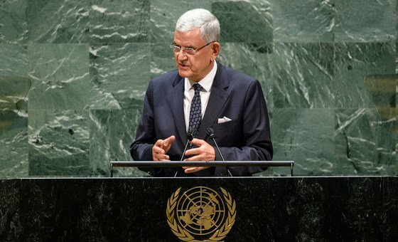 Under Volkan Bozkir, the General Assembly conducted 103 ceremonial  plenary meetings and adopted implicit    320 resolutions