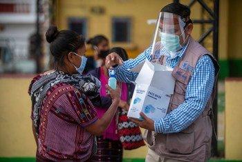 Au Guatemala, le PAM aide des communautés autochtones affectées par l'insécurité alimentaire en raison de la pandémie de Covid-19.