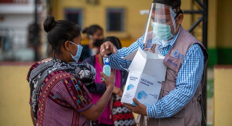 In Guatemala, the World Food Programme (WFP) is assisting indigenous communities affected by food insecurity due to the socioeconomic impact of the COVID-19 pandemic.