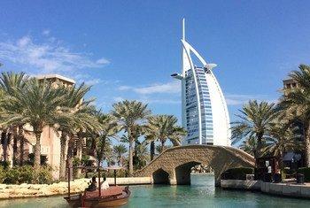 برج العرب في دبي، الإمارات.