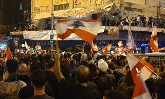 التظاهرات في لبنان