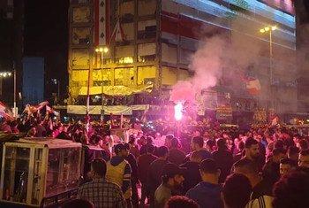 Manifestations au Liban (photo d'archives).