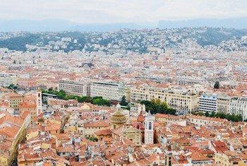 फ्राँस का नीस शहर.