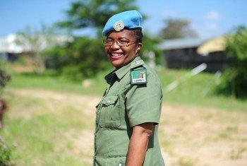 Inspekta mkuu Doreen Malambo ambaye ni mshauri wa masuala ya kijinsia kwenye ujumbe wa Umoja wa Mataifa nchini Sudan Kusini (UNMISS)