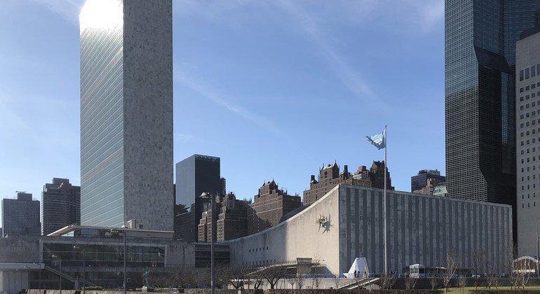 Здание Секретариата ООН в Нью-Йорке