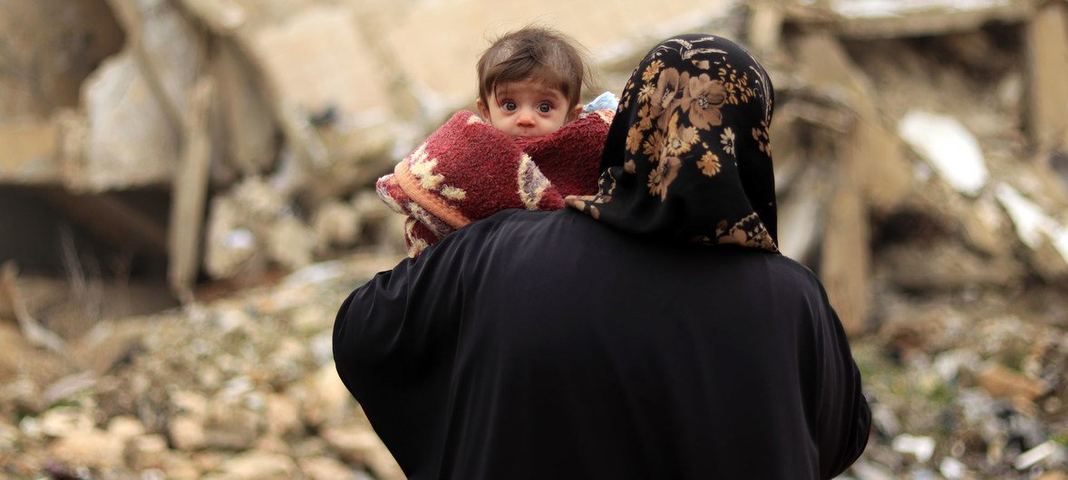 'Immediate nationwide ceasefire' needed for all-out-effort to counter COVID-19 in Syria
