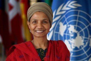 भारत में संयुक्त राष्ट्र जनसंख्या कोष की प्रतिनिधि अर्जेंटीना मातावेल पिक्किन.