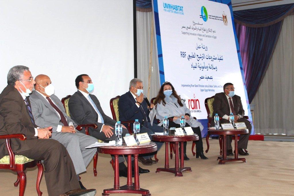 برنامج الأمم المتحدة للمستوطنات البشرية بمصر يتوسع في تطبيق تكنولوجيا الترشيح الطبيعي لضفاف الأنهار بمحافظات الصعيد