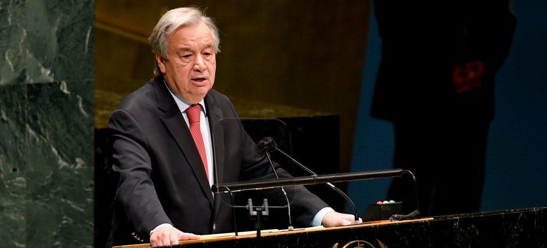 Guterres lembrou que centenas de milhões de pessoas ainda lutam todos os dias porque não têm acesso confiável e barato à eletricidade