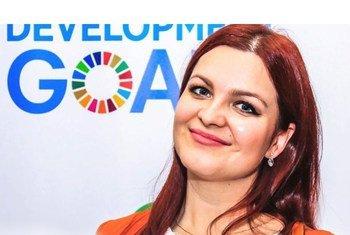 Кристина Мардари из Молдовы вместе с коллегами из Управления ООН по правам человека старается защитить от COVID-19 самых беззащитных.