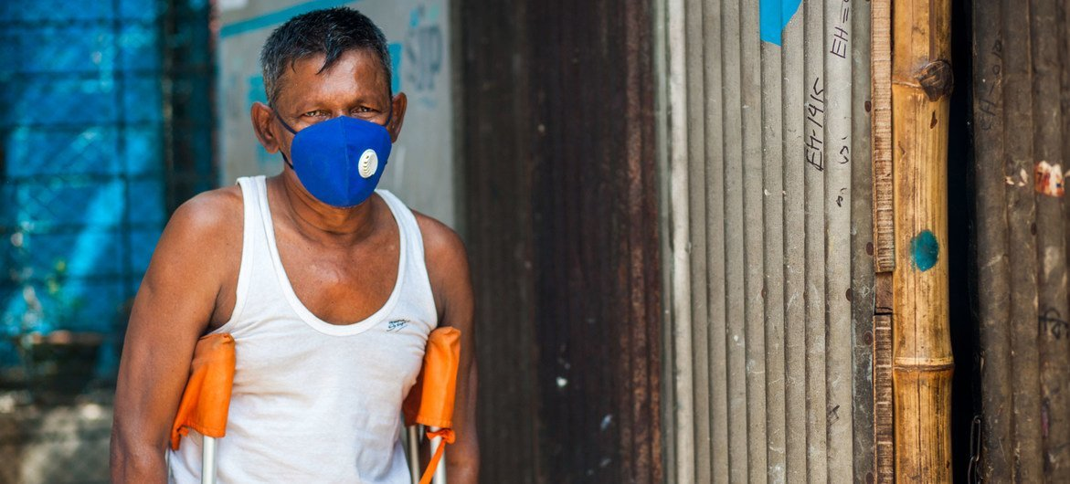 Vulnerable people in Bangladesh are being supported by the United nations during the  coronavirus pandemic.