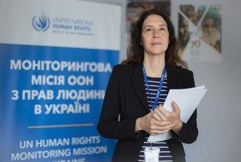 Матильда Богнер, глава Мониторинговой миссии ООН по правам человека в Украине.
