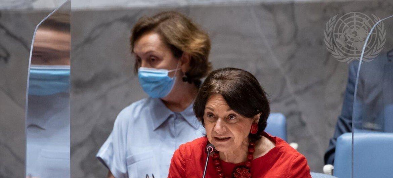 Rosemary DiCarlo disse que ONU anseia pelos resultados concretos de investigação de abusos em Tigray