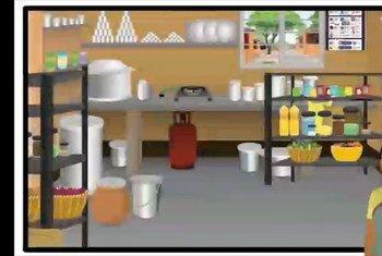 किचन व बर्तनों की साफ़-सफ़ाई