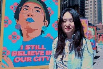 एशियाई विरोधी भेदभाव के ख़िलाफ़ लोक कला का सहारा: I still Believe in NYC