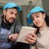 Каждый четвертый опрошенный МОТ представитель молодежи сообщил об участии в каком-либо волонтерском проекте. На фото: волонтеры в Сербии.