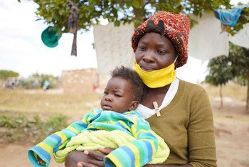 In Harare, Zimbabwe, a single mother of three relies on food assistance from the World Food Programme (WFP) during the COVID-19 pandemic.