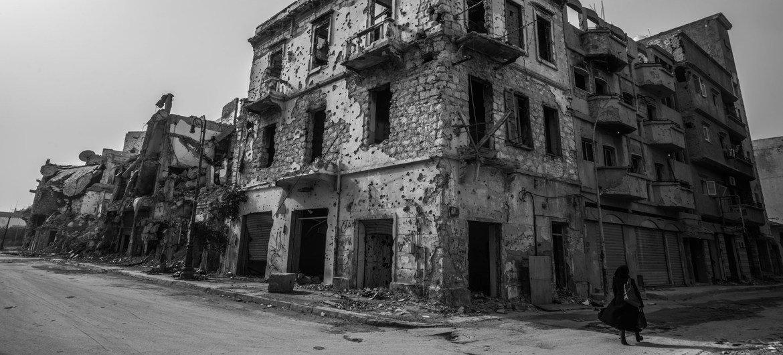 أدت ثورة 2011 في ليبيا إلى تجزئة حكم الميليشات مع استمرار الانقسام في جزء كبير في البلاد..