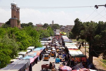 Herat is located in the west of Afghanistan. (file)