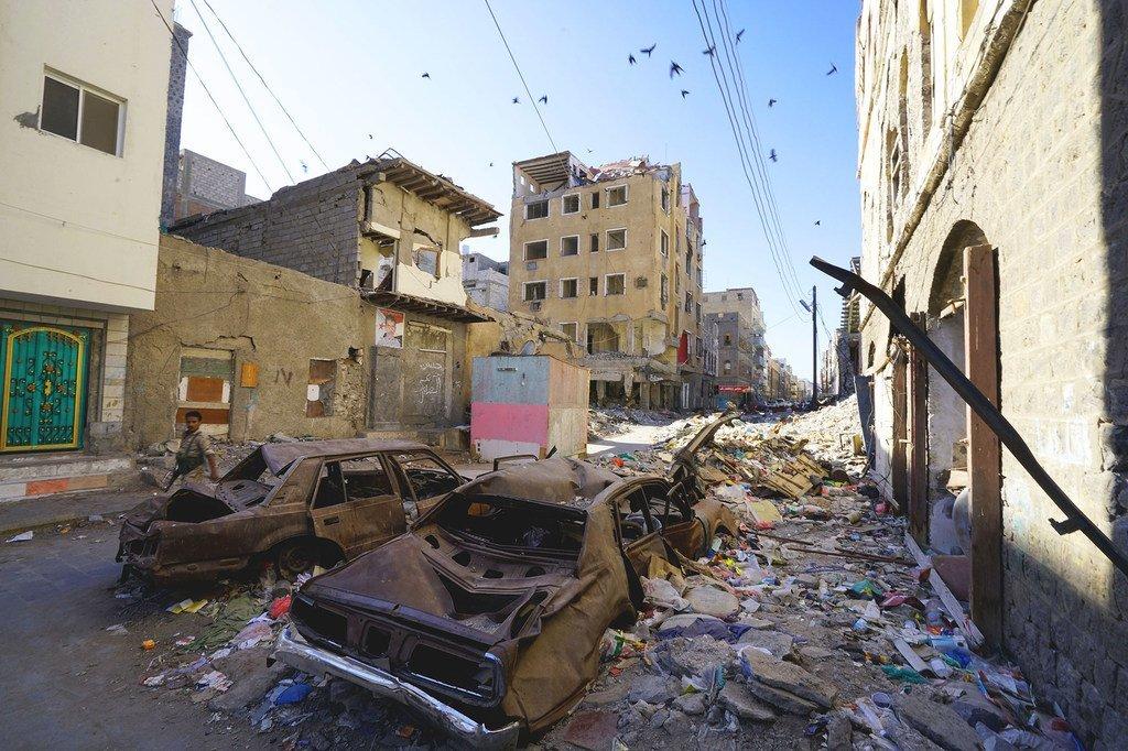 Mazingira ya Cratar huko Aden, Yemen. (18 Novemba 2018)