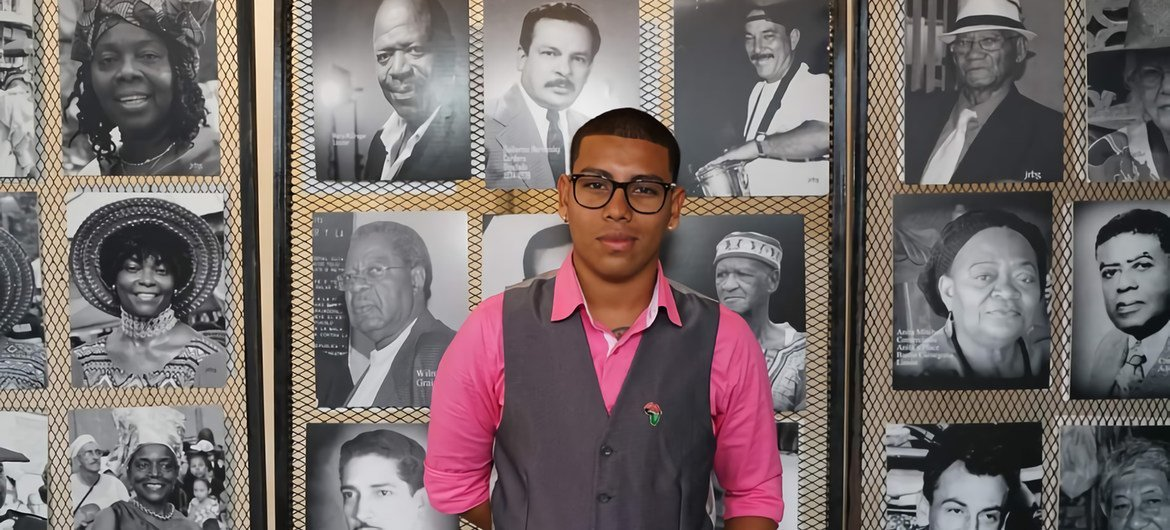 Jan André Solano participated successful  a UN inaugural  that collects the stories of respective  radical   of African descent and done  their idiosyncratic   experiences they stock  their achievements, challenges, desires and beingness  lessons.