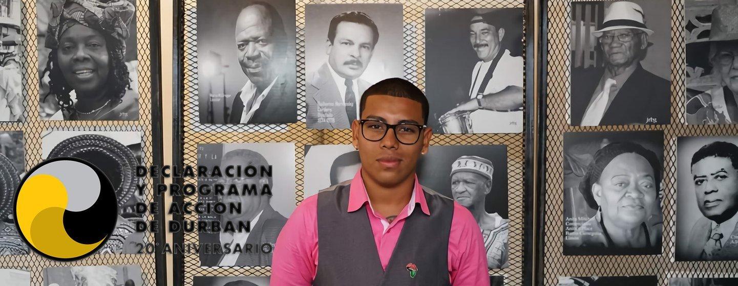 Jan André Solano participó en una iniciativa de la ONU que recoge las historias de varios afrodescendientes y a través de sus experiencias personales comparten sus logros, retos, deseos y lecciones de vida.
