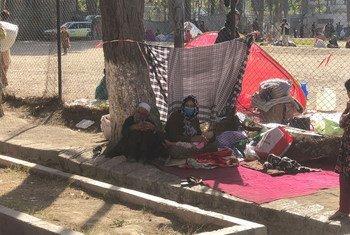 تشردت العديد من العائلات في أفغانستان عقب سيطرة طالبان على كابول