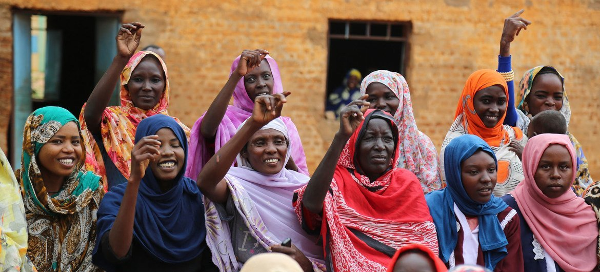 The inclusion of women in political processes will benefit all Sudanese people, the UN says.