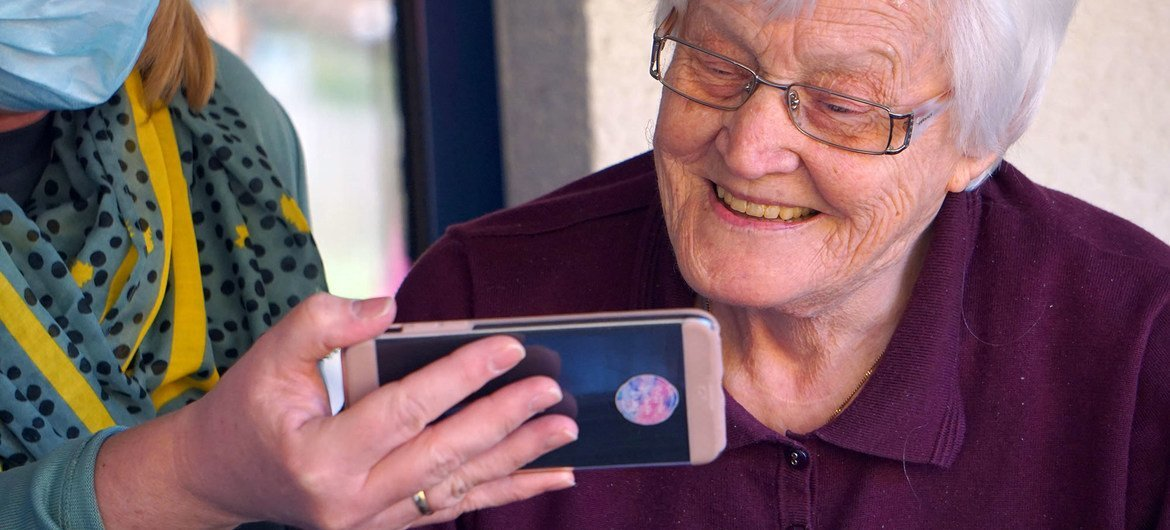 The COVID-19 pandemic has accelerated the need to close the digital divide for older persons.