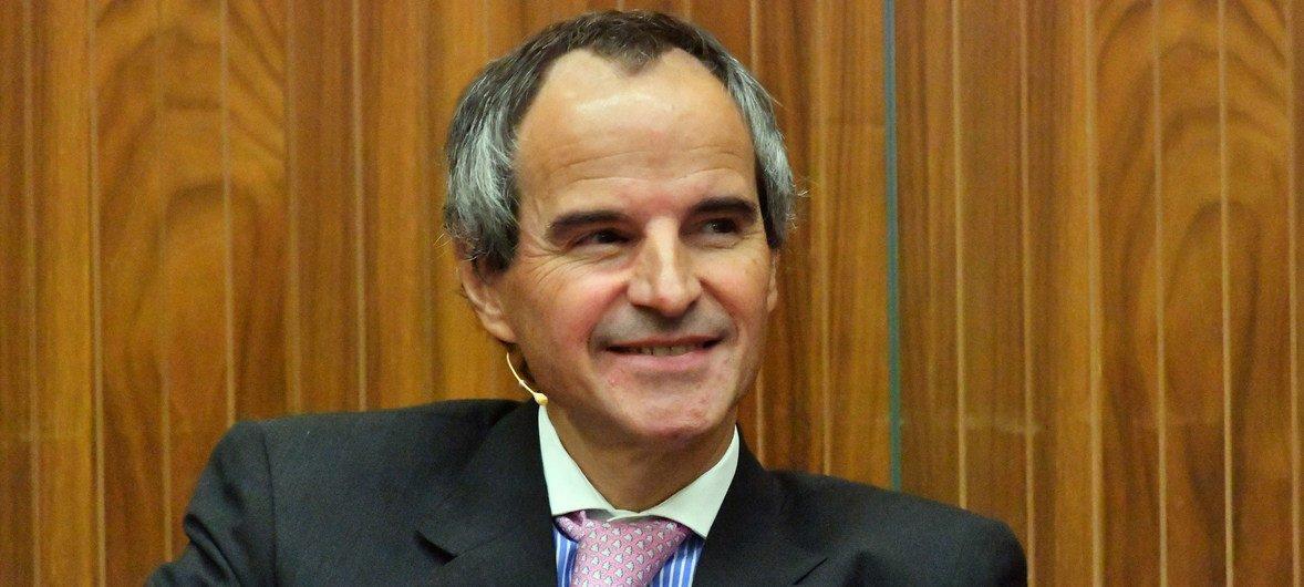 Mariano Grossi é embaixador da Argentina junto à Aiea e tem mais de 35 anos de experiência em temas de não-proliferação e desarmamento.