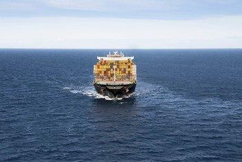 El buque contenedor MSC Daniela.
