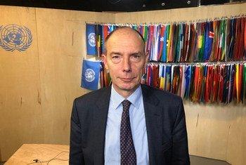 Philippe Gautier, Greffier de la Cour internationale de Justice.