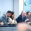Спецпосланник главы ООН по Сирии Гейр Педерсен на первой встрече членов Конституционного комитета