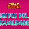 """Animação 2D """"Juntos pela Igualdade"""" foi produzida por uma parceria entre a Maurício de Sousa Produções, a Secretaria de Segurança Pública do Distrito Federal, a ONU Mulheres e o Pnud Brasil."""
