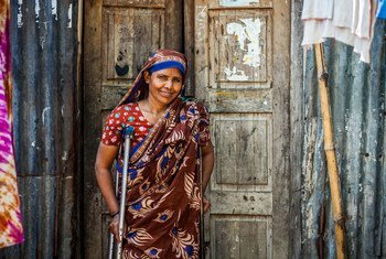 UNDP is providing emergency support for coronavirus prevention in poor urban areas in Bangladesh.