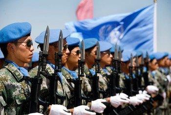 中国维和军人也曾在非盟-联合国达尔富尔混合行动中服役。