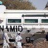 Shule ya Oumoul Mouminina katika eneo la  Forobaranga Darfur Magharibi ikilindwa na UNAMID