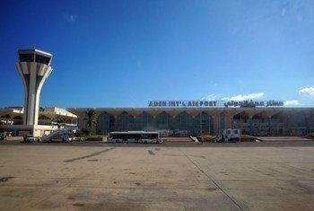 مطار عدن الدولي، جنوب اليمن.