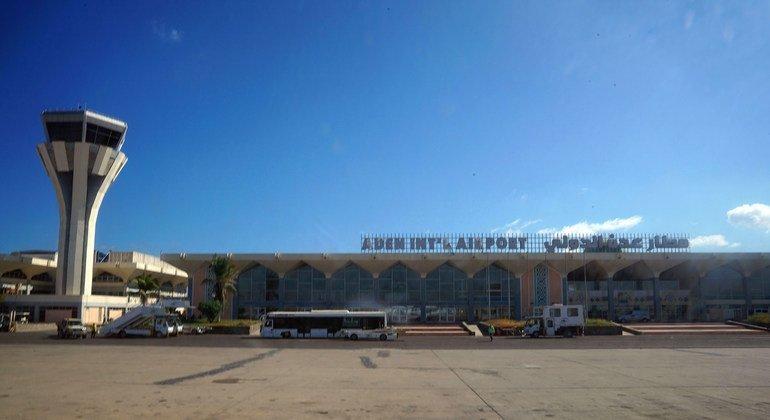 यमन:अदन हवाई अड्डे पर हुए हमले की तीखी भर्त्सना