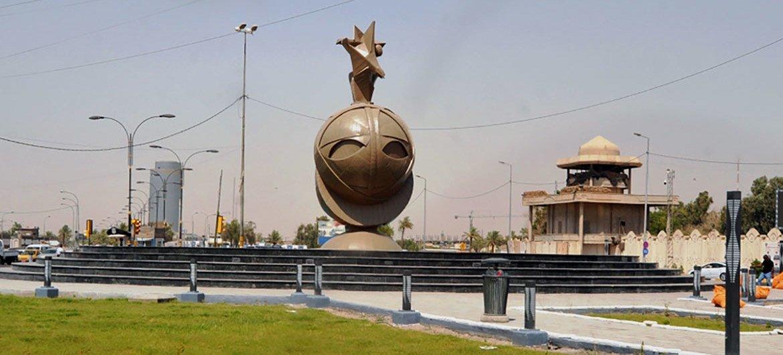 Baghdad, the capital of Iraq.