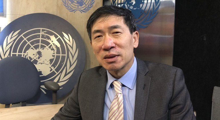 Haoliang Xu, Director of the UN Development Programme's Department of Policy and Programme Support