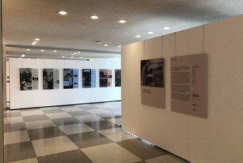 Some were Neighbours exhibit at UN Headquarters in New York.