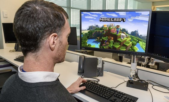 UN-Habitat and partners are working with community members to improve the design of public spaces, using the computer game Minecraft