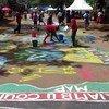 Nairobi playground improved following Block by Block workshops