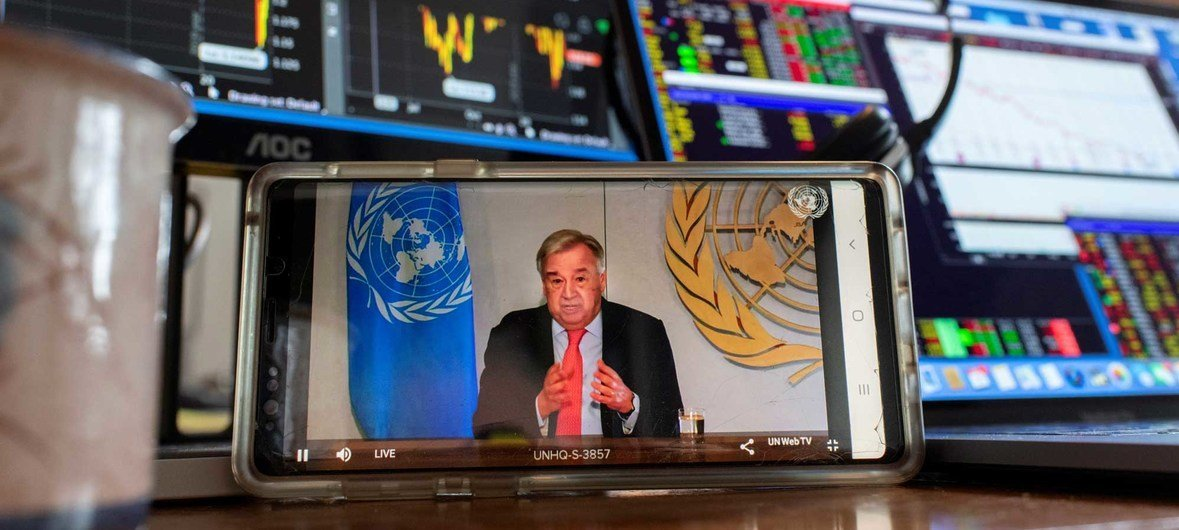 UN launches COVID-19 plan that could 'defeat the virus and build a better world'