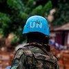 2021年1月15日,联合国中非稳定团的维和人员在中非共和国东南部城市班加苏开展安全巡逻。此前该地区遭遇了多次武装团体袭击。