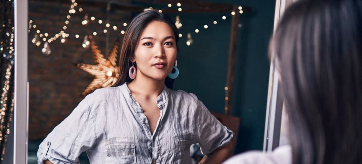 Kanykei is one of the few transgender people who live openly in the Kyrgyzstan capital of Bishkek.